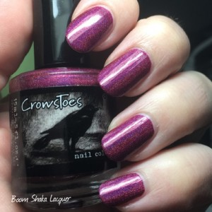 Crows Toes - Edgy Red