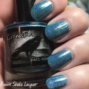 Crows Toes - Edgy Ocean Blue